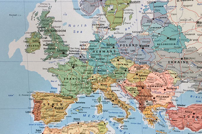 mapping out European culture with Untours