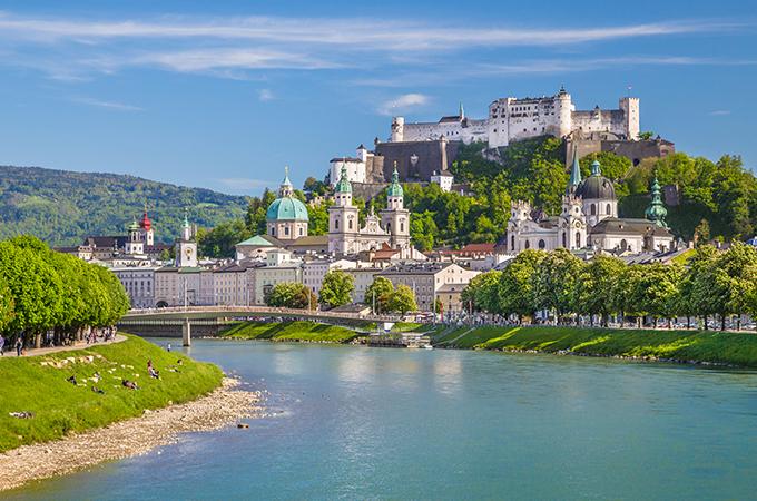 Salzburg, Austria Untour