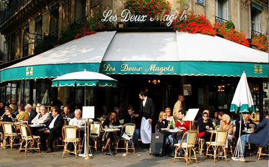 Paris Cafe Culture In SaintGermain The Untours Blog - Paris cafe table