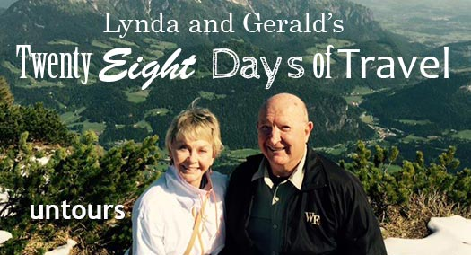 28 Days Of Travel Untourists Gerald And Lynda In Europe