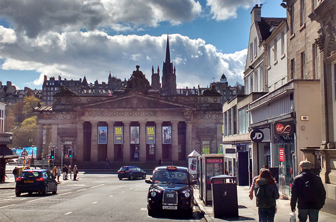Edinburgh on the Scotland Untours