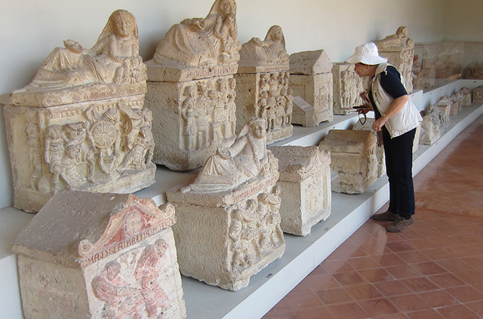 Etruscans in Tuscany and Umbria