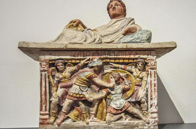 Etruscan Museum on the Umbria Untour