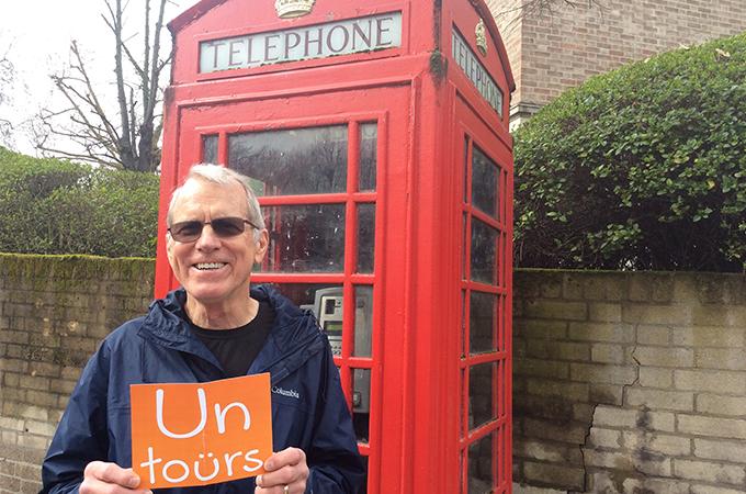 Happy Untourists in London