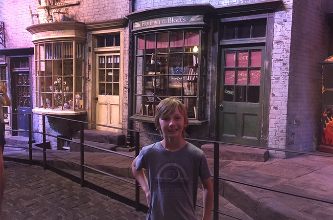 Diagon Alley, Harry Potter London
