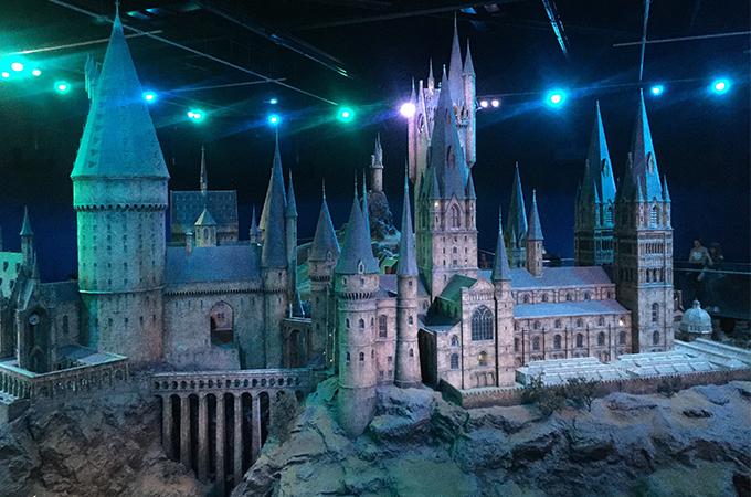 Hogwarts, Harry Potter in London
