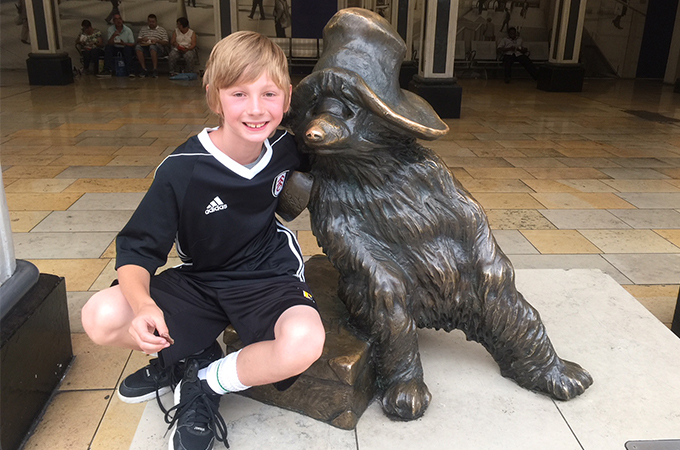 Paddington Bear, London