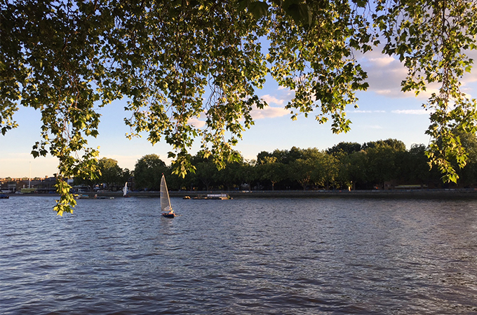 Thames, London with kids