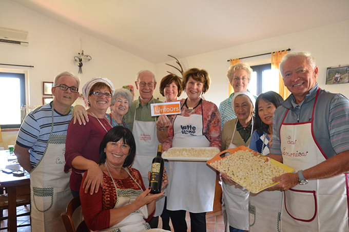 Tuscany cooking lessons with Untours