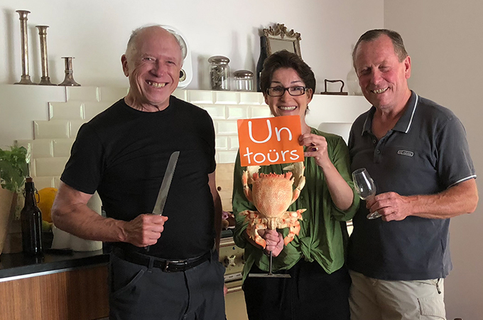 Untours wine tasting and cooking classes in Provence