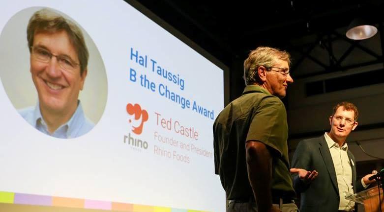 Rhino Foods wins Hal Taussig Award