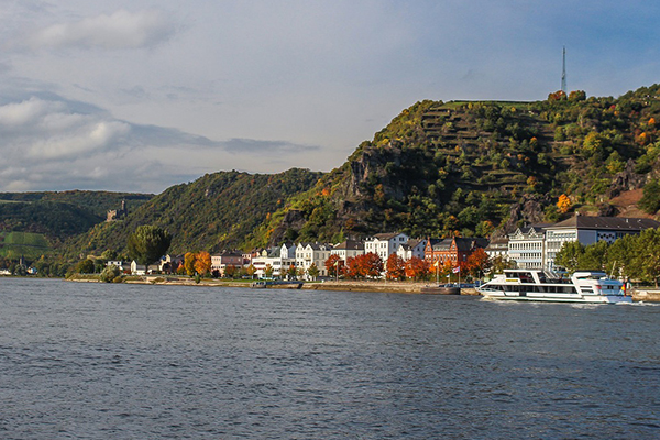 St. Goar, German Rhine