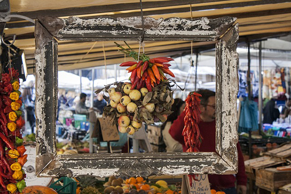 Rome market guide from Untours