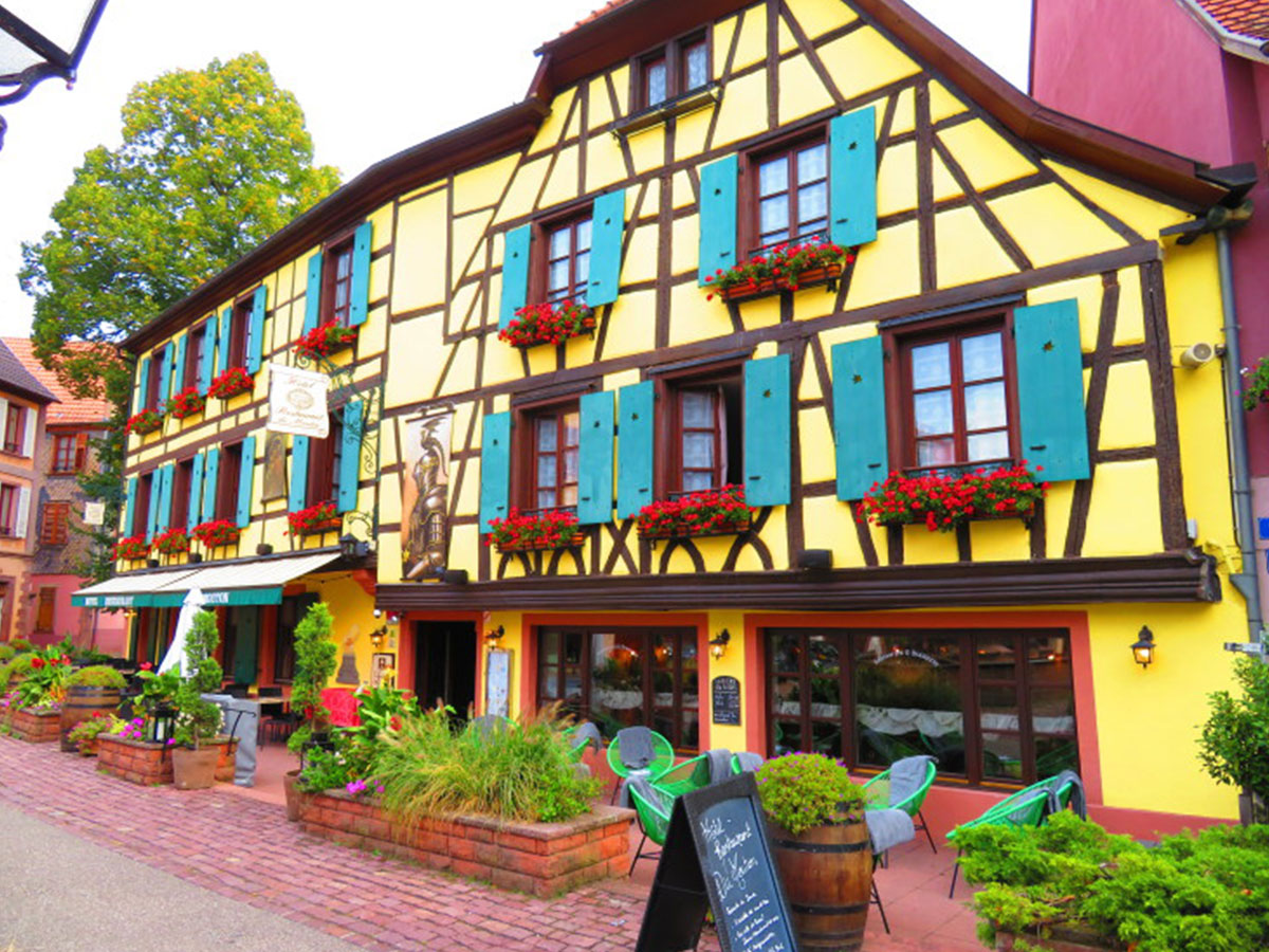 Alsace apartment stay, Untours in France