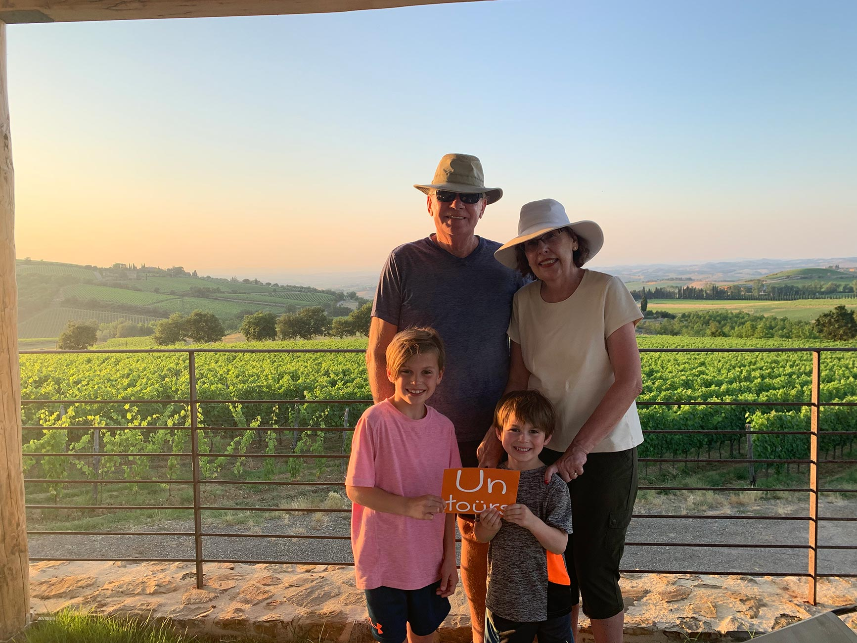 Tuscany family travel