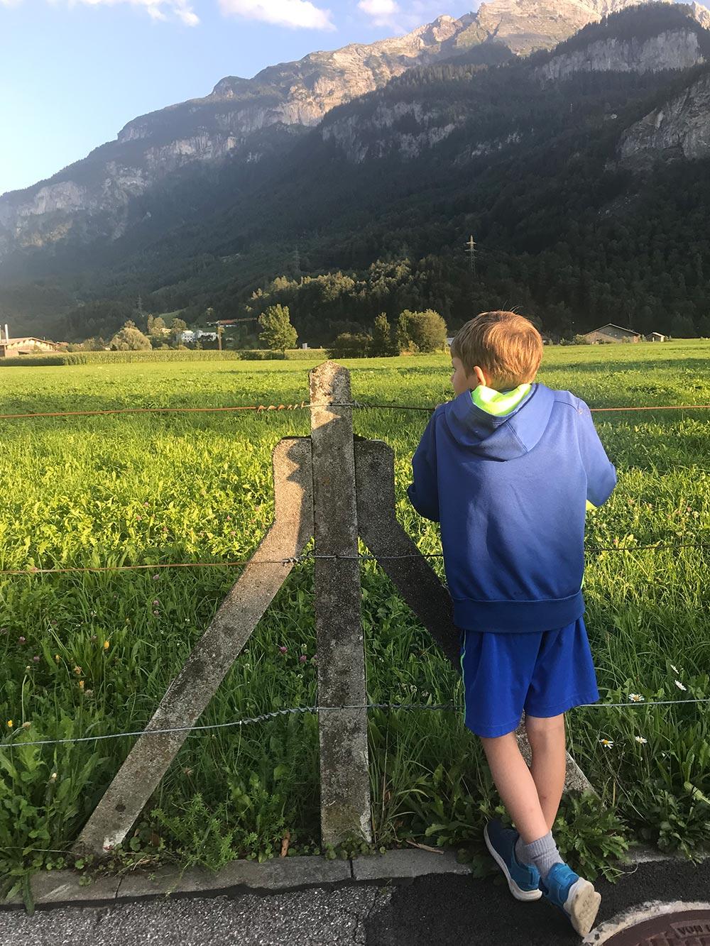 Family travel Switzerland