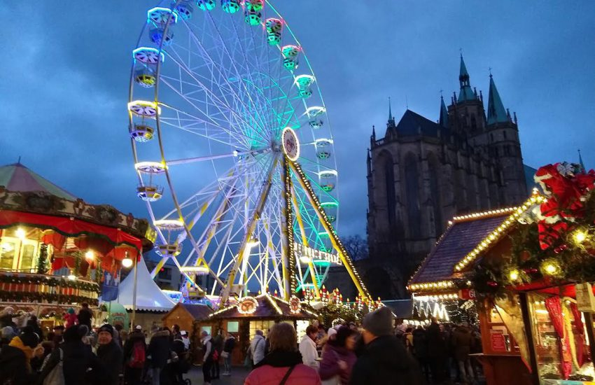 Christmas markets in German