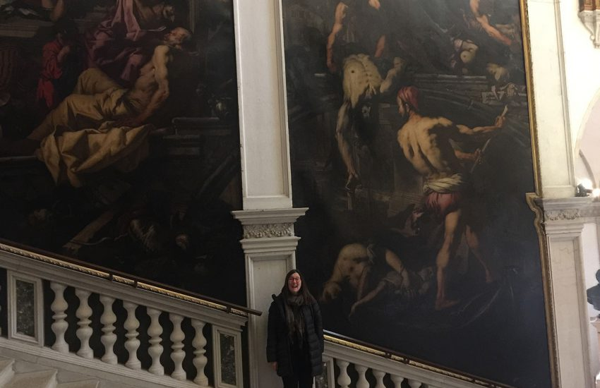 School of San Rocco Tintoretto Venice