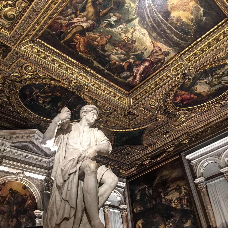 School of San Rocco Tintoretto Venice