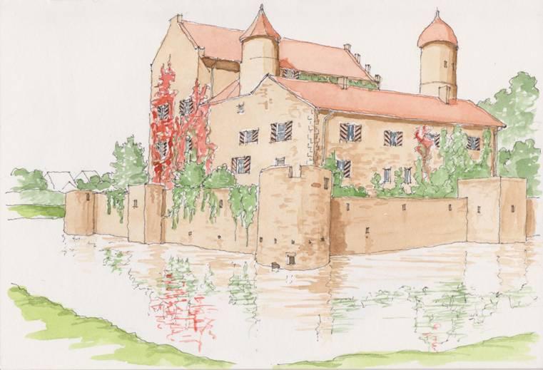 German castle stay