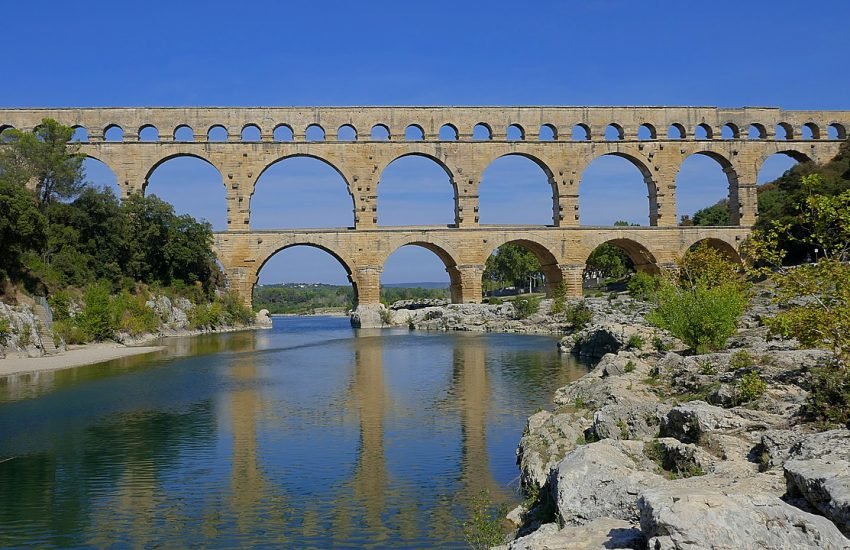 Ancient Roman sites in Provence