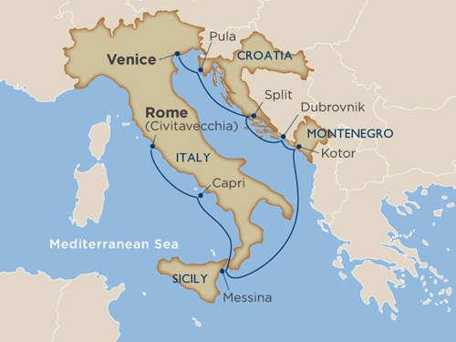 classic italy dalmatian coast rome to venice untours ventures