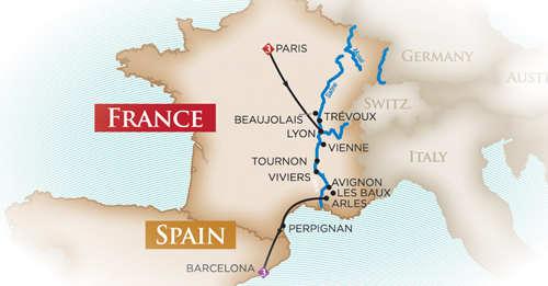 Southern france untours ventures for Tour de barcelona a paris